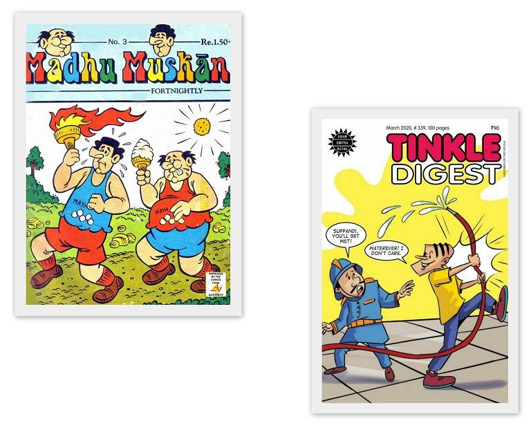 Madhu Muskaan And Tinkle - Children Magazine