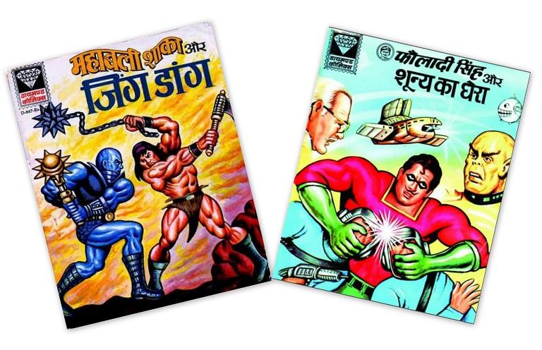 Mahabali Shaka And Fauladi Singh - Diamond Comics