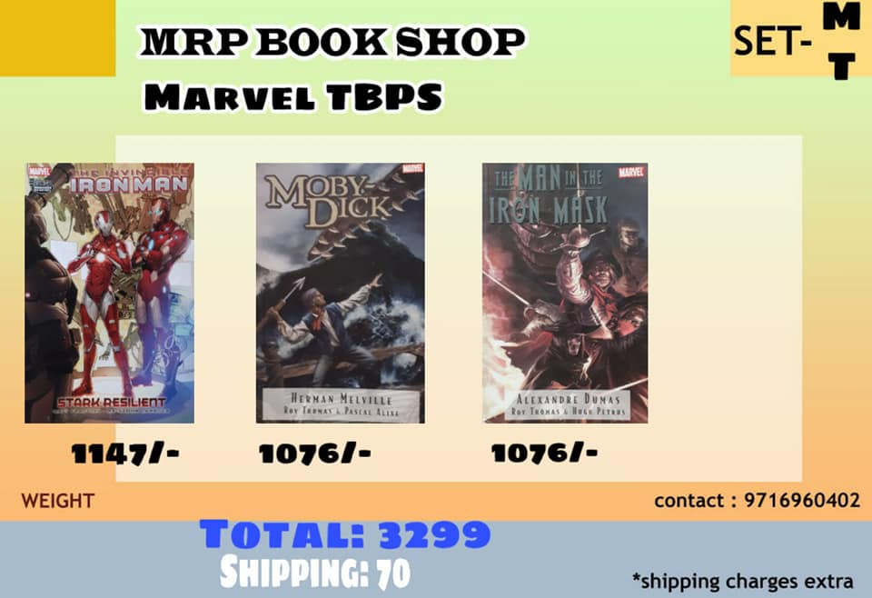 Marvel TBPS - Iron Man & Illustrated Classics