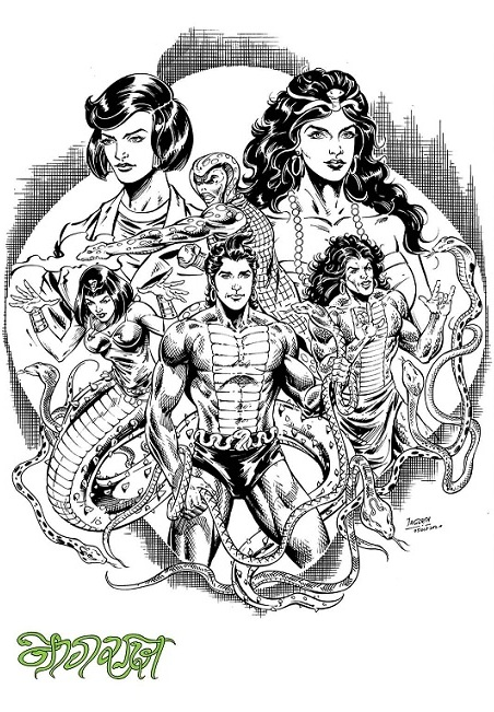 Nagraj - Raj Comics - Jagdish Kumar