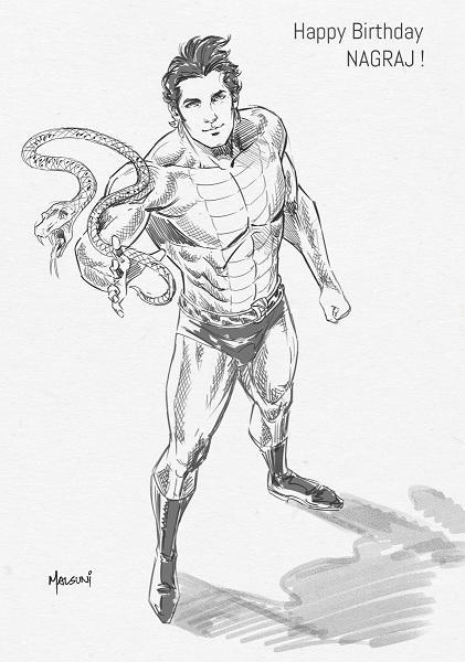 Nagraj - Raj Comics - Abhishek Malsuni