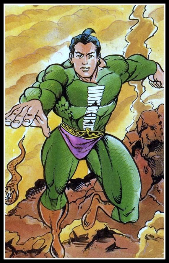Nagraj Postcard - Raj Comics