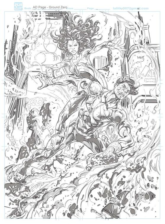 Neo - Super Commando Dhruva - Raj Comics