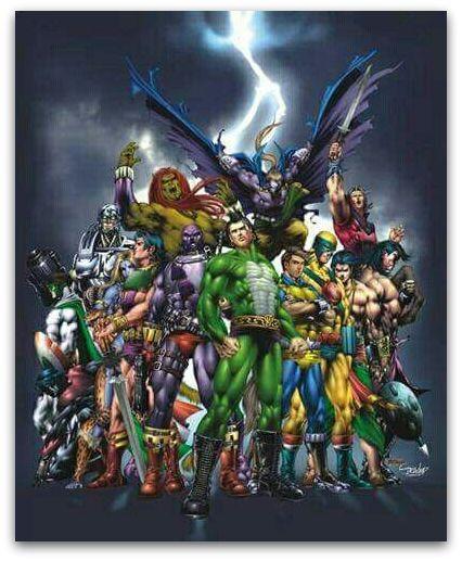 Raj Comics Universe - All Heroes