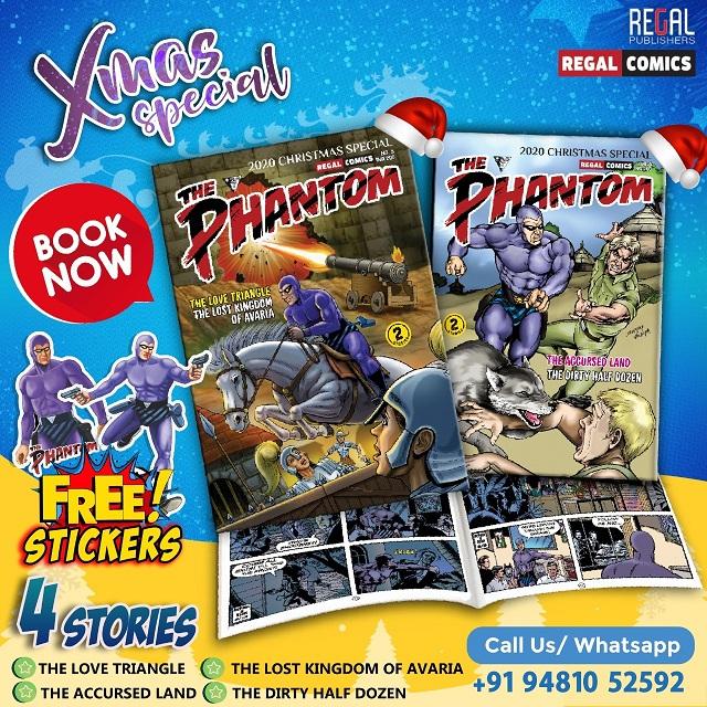 The Phantom SET 3 - Regal Publishers Christmas Special - Regal Comics
