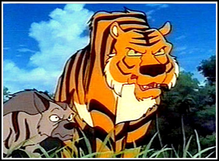 The Jungle Book - Sher khan And Tabaki
