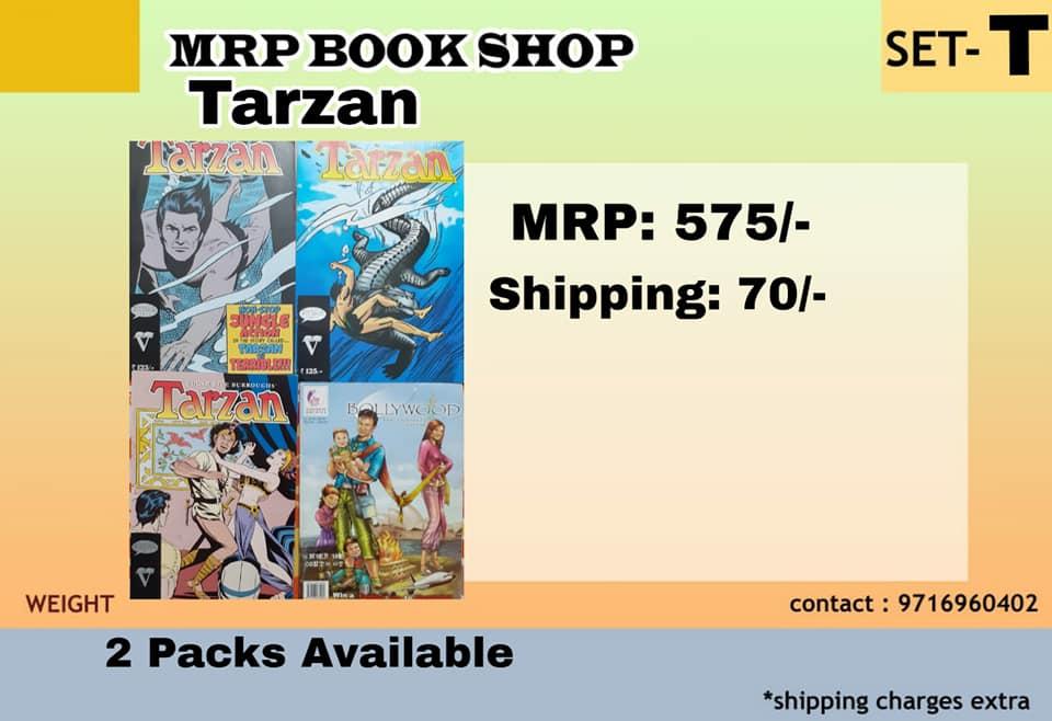 Tarzan Pack - Big Size Gotham & Illustrated Orchids