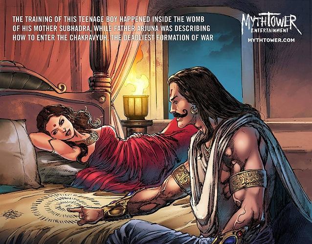 The One: Abhimanyu - MythTower Entertainment - Arjuna And Subhadra