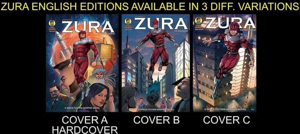 Zura - Fenil Comics - Variant Covers