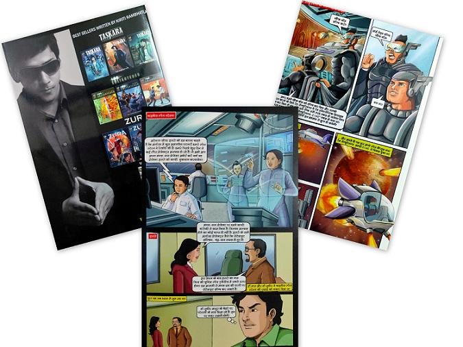 Zura Comics Review - Fenil Comics