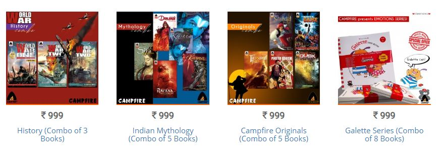 Campfire Graphic Novels - Combo Offer