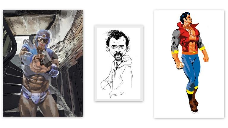 Comic-Book-Artist-Naresh-Kumar
