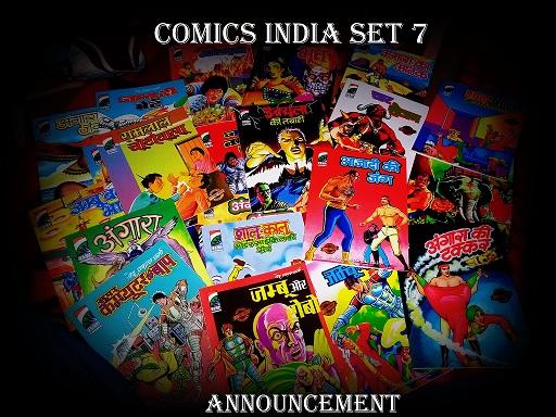 Comics-India-Set-7