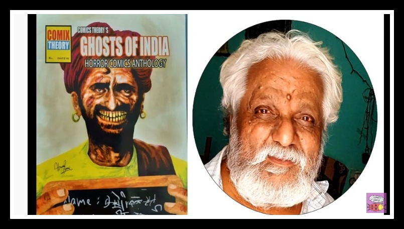 Husain Zamin Zaidi - Comic Book Artist - Ghost Of India