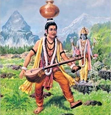 Narada Muni And Lord Vishnu