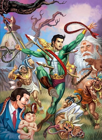 Raj Comics - Yugaarambh Series CE