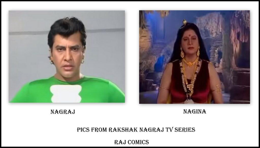 Nagraj Aur Nagina - Rakshak Nagraj TV Serial - Raj Comics