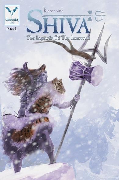 Vimanika Comics - Shiva The Legend Of The Immortal Book 1