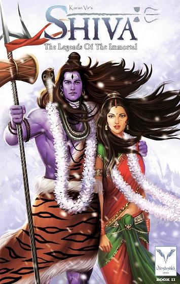Vimanika Comics - Shiva The Legend Of The Immortal Book 2