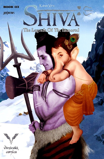 Vimanika Comics - Shiva The Legend Of The Immortal Book 3
