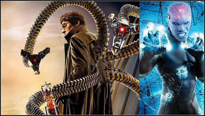 Spider-Man 3 - Marvel Studio - Sony Pictures - Doctor Octopus And Electro
