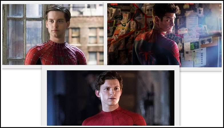 Spider-Man 3 - Marvel Studio - Sony Pictures - Tom Holland, Tobey Maguire And Andrew Garfield