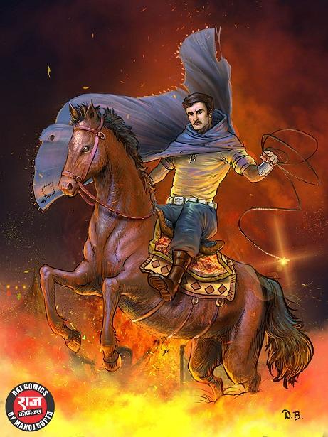 Aazadi Ki Jwala - Super Commando Dhruva - Raj Comics By Manoj Gupta