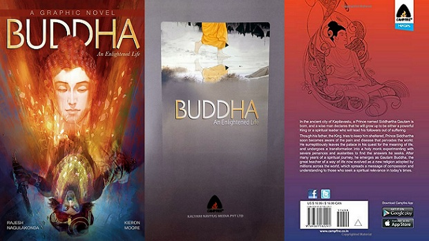 Buddha An Enlightened Life (Campfire Graphic Novels)