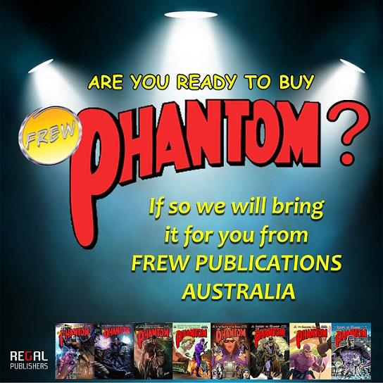 Frew Phantom - Regal Comics