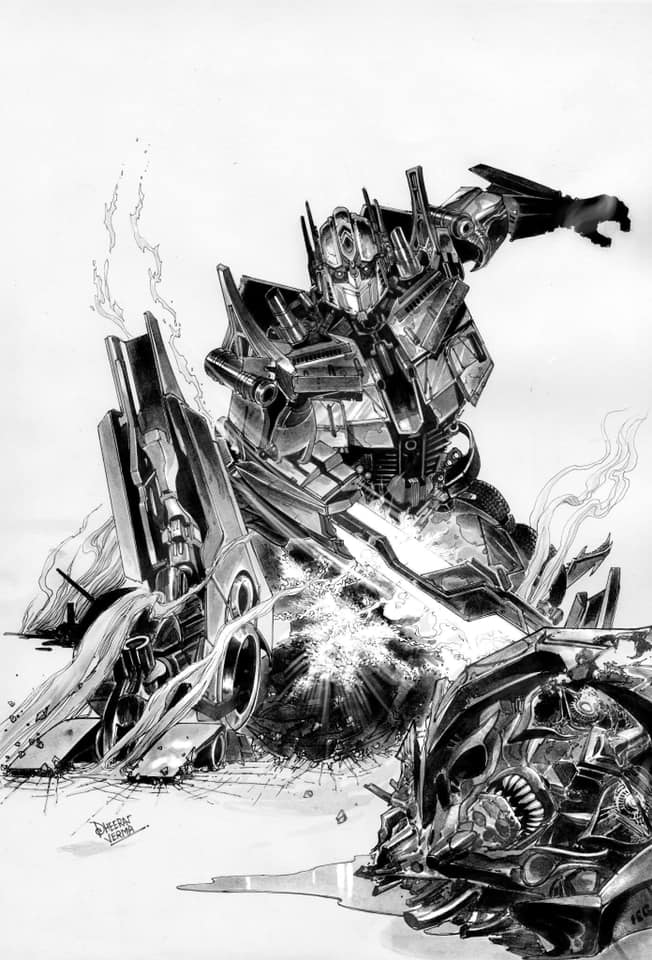 IDWP - Transformers - Optimus Prime
