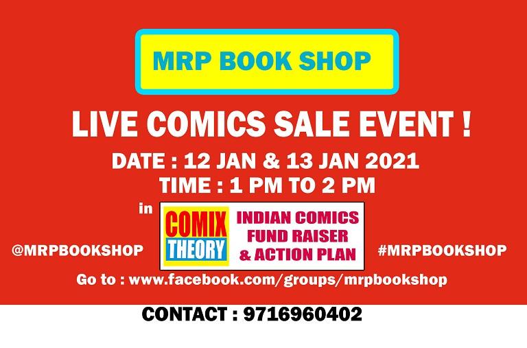 MRP Book Shop - Live Sale