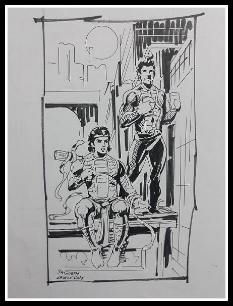 Nagraj Aur Tausi - Raj Comics
