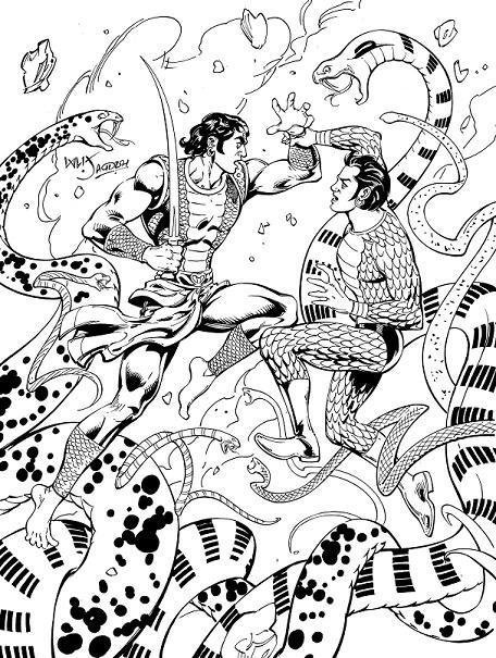Pralay Ka Devta - Raj Comics By Sanjay Gupta - Nagraj Vs Tausi