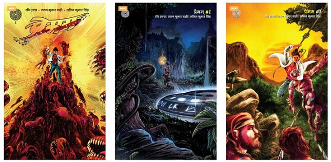 Premam-2-Maze-Comics-All-Covers