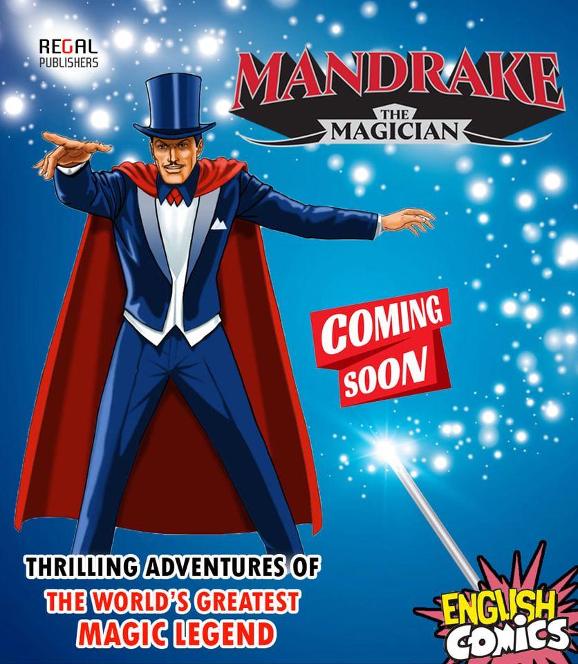 Regal Comics - Mandrake The Magician