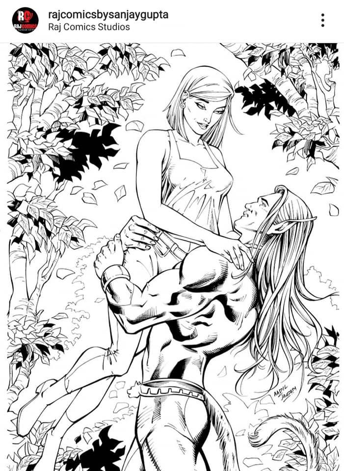 Shuddhikaran Series - Raj Comics By Sanjay Gupta