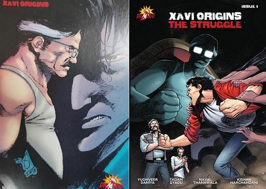 Xavi Origins - Dhaansu Productions - Comics