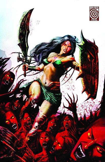 Yagyaa - Poster - Blood Bath - Bullseye Press