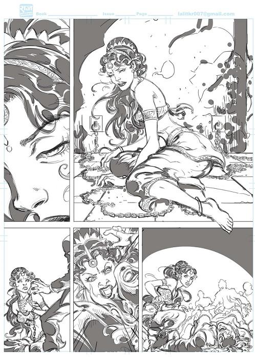 Yugaarambh - Apsara - Tausi - Raj Comics