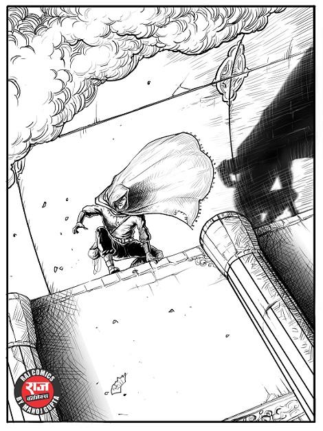 Aazadi Ki Jwala - Raj Comics - Super Commando Dhruva