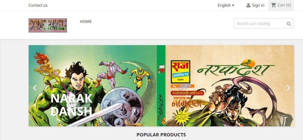 Comic Haveli Book Store