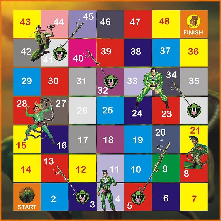 Nagraj Board Game - Raj Comics