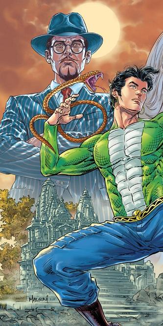 Narak Nashak Nagraj - Utpatti Shrinkhla - Raj Comics