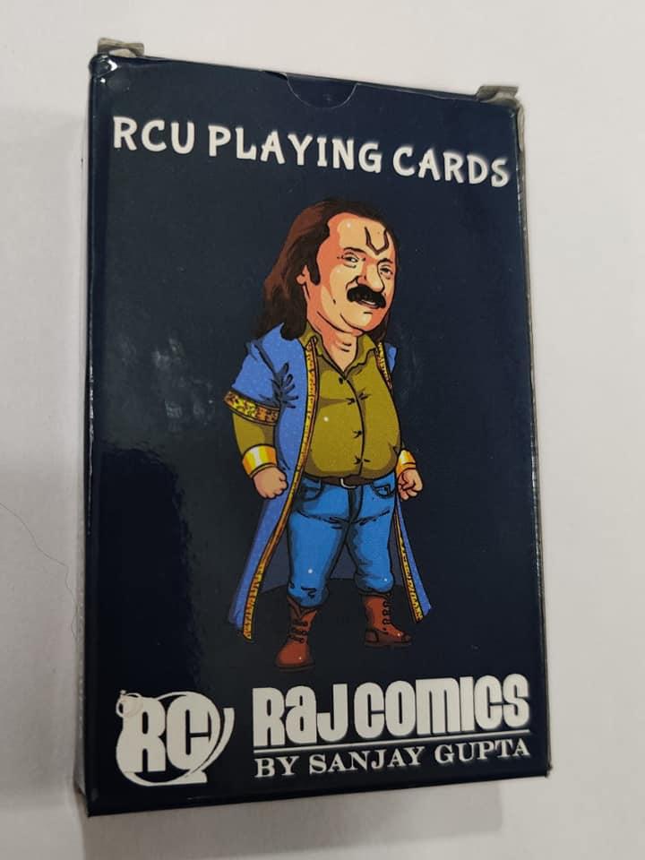 RCU Playing Cards - Raj Comics