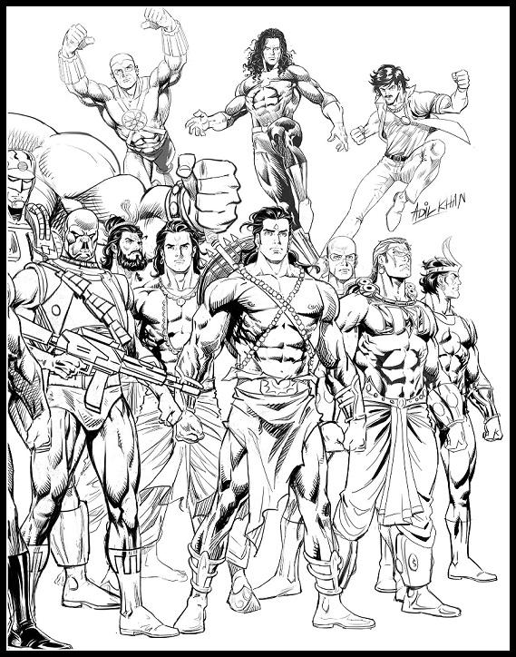Raj Comics - Brahmand Rakshak