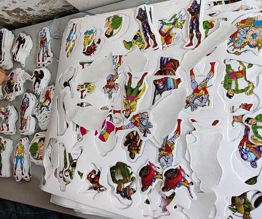 Raj Comics - Paper Stickers