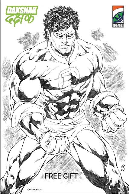 Comics India - Dakshak