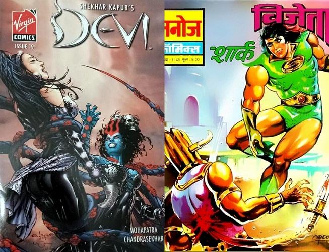 Devi & Shark - Virgin Comics & Manoj Comics