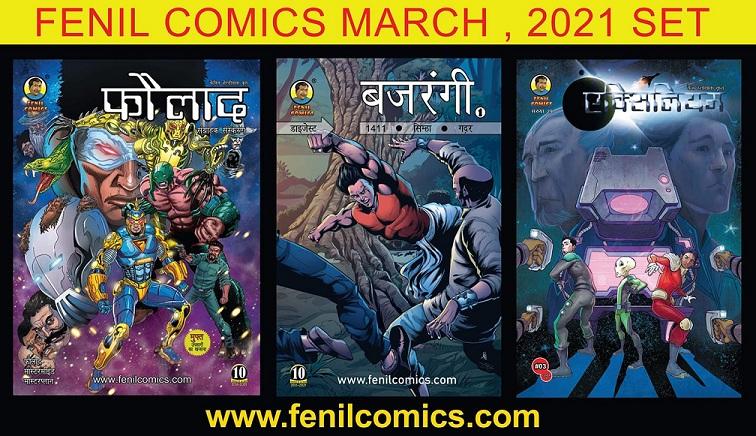 Fenil Comics Set 1 - 2021