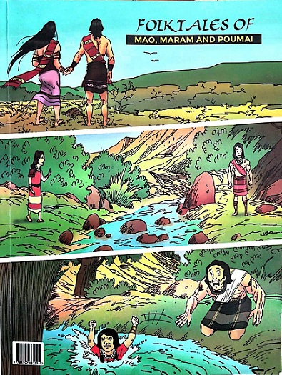 Folktales Of Mao, Maram And Poumai - Manipur Folktales Comics